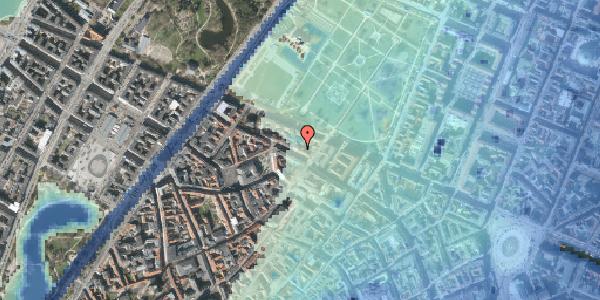 Stomflod og havvand på Åbenrå 10, 1124 København K