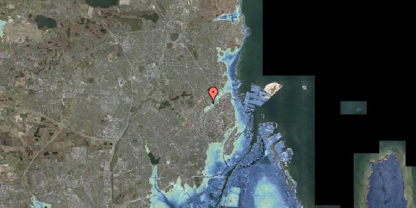 Stomflod og havvand på Strødamvej 50C, 2100 København Ø