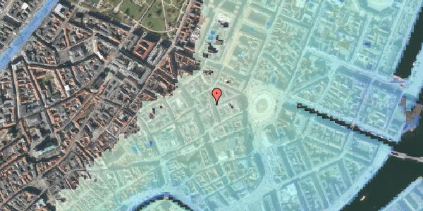 Stomflod og havvand på Ny Østergade 7A, 1101 København K