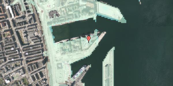 Stomflod og havvand på Marmorvej 51, 1. , 2100 København Ø