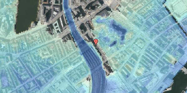 Stomflod og havvand på Bernstorffsgade 16, 1577 København V