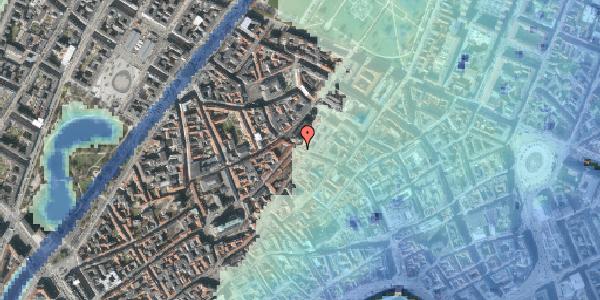 Stomflod og havvand på Købmagergade 49, kl. 1, 1150 København K