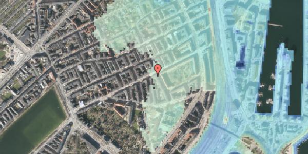 Stomflod og havvand på Classensgade 50A, 2100 København Ø