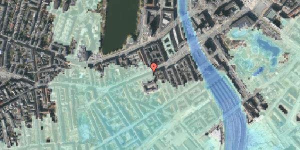 Stomflod og havvand på Vesterbrogade 23, 1620 København V
