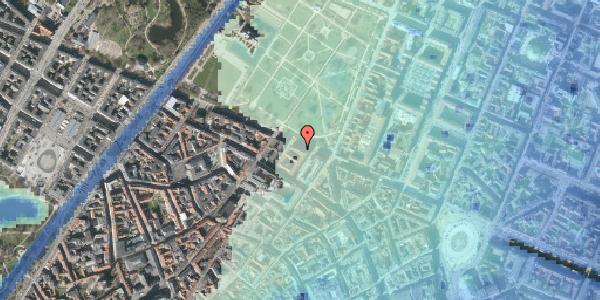 Stomflod og havvand på Gothersgade 53, 1123 København K