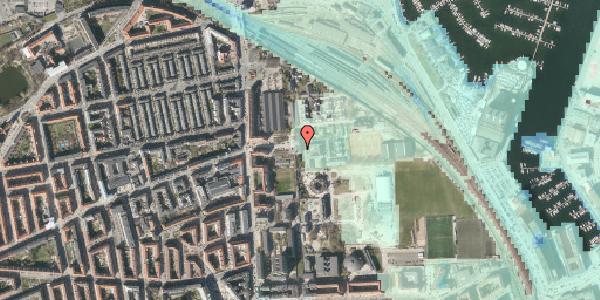 Stomflod og havvand på Carl Nielsens Allé 9C, 2100 København Ø