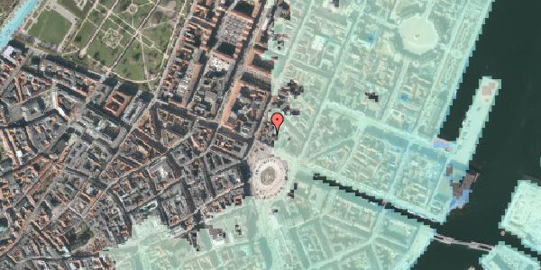 Stomflod og havvand på Kongens Nytorv 8A, 1050 København K