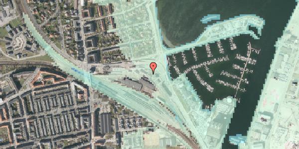 Stomflod og havvand på Strandvænget 28, 2100 København Ø