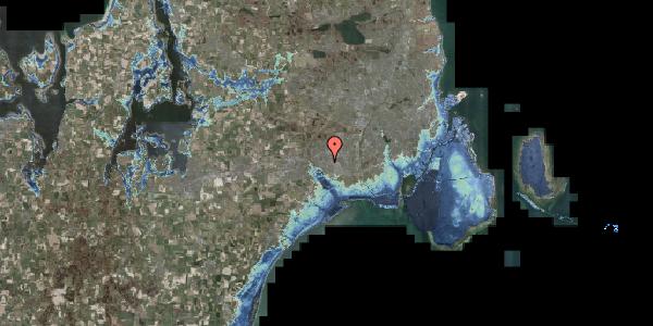 Stomflod og havvand på Gymnasievej 10, 2625 Vallensbæk