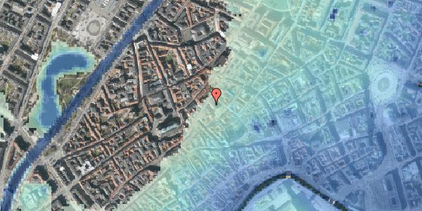 Stomflod og havvand på Kejsergade 2, 1155 København K