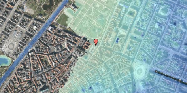 Stomflod og havvand på Sjæleboderne 4, st. , 1122 København K