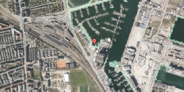Stomflod og havvand på Strandvænget 57C, st. , 2100 København Ø