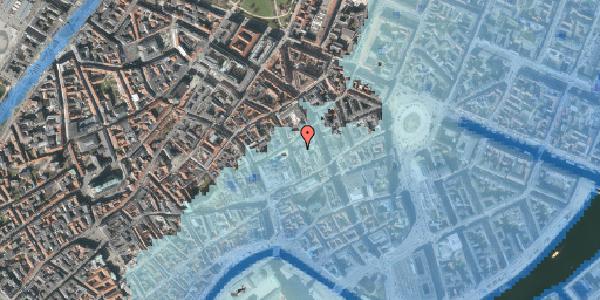 Stomflod og havvand på Pilestræde 8E, 1112 København K