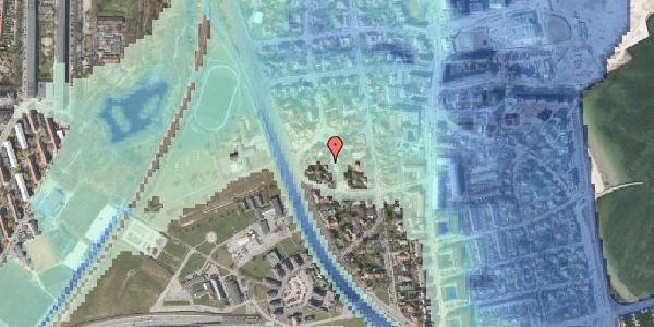 Stomflod og havvand på Vestagervej 3, 2100 København Ø
