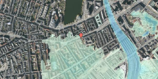 Stomflod og havvand på Vesterbrogade 35, 3. th, 1620 København V