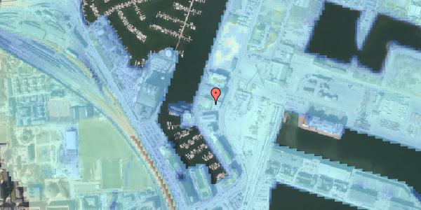 Stomflod og havvand på Sundkrogen 4, 2100 København Ø