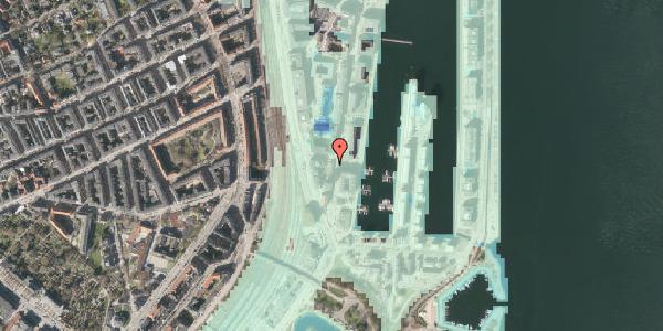 Stomflod og havvand på Dampfærgevej 9, 2100 København Ø