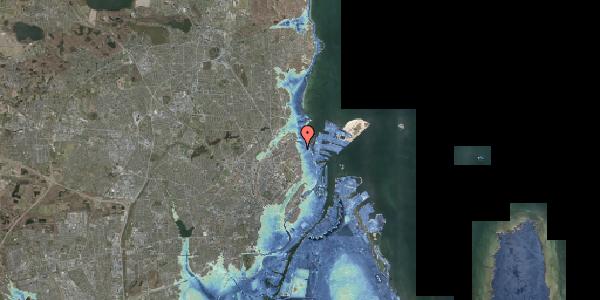 Stomflod og havvand på Johan Svendsens Vej 12, 2100 København Ø