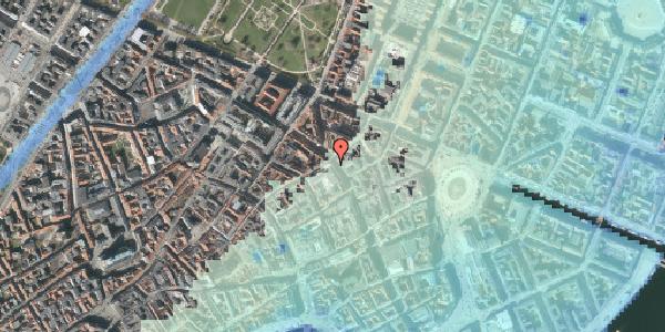 Stomflod og havvand på Gammel Mønt 11, 4. , 1117 København K