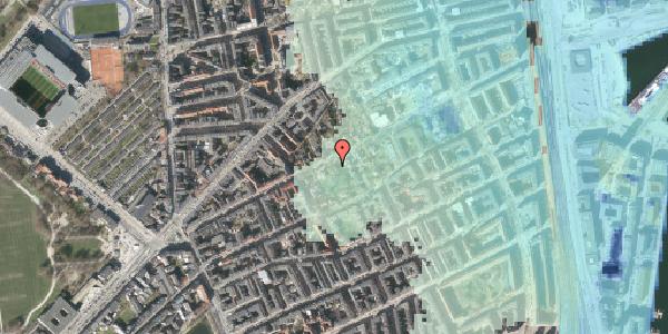 Stomflod og havvand på Rosenvængets Hovedvej 6B, 2100 København Ø