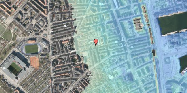 Stomflod og havvand på Gammel Kalkbrænderi Vej 11B, 2100 København Ø