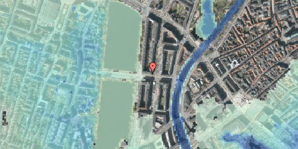 Stomflod og havvand på Kampmannsgade 4, 1604 København V
