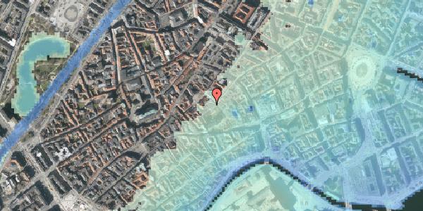 Stomflod og havvand på Valkendorfsgade 16, 1151 København K