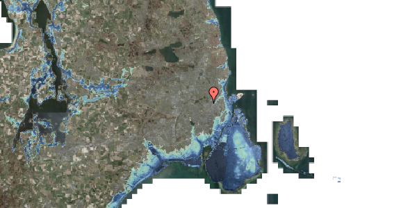 Stomflod og havvand på Birkedommervej 25, 1. , 2400 København NV