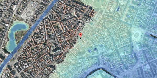 Stomflod og havvand på Løvstræde 8B, 4. th, 1152 København K