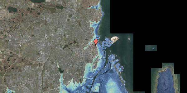 Stomflod og havvand på Vennemindevej 39, 2. mf, 2100 København Ø