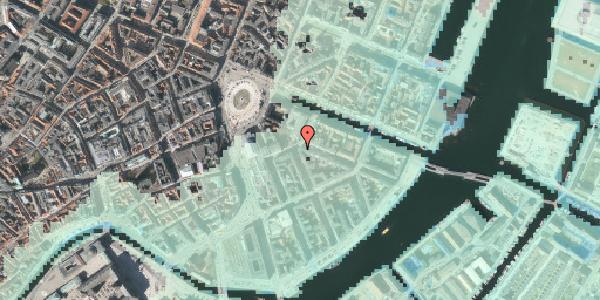 Stomflod og havvand på Heibergsgade 10, 1056 København K