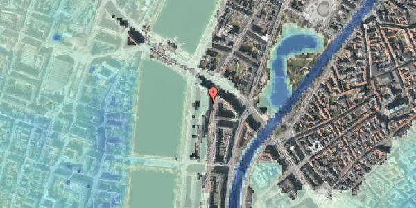 Stomflod og havvand på Nyropsgade 6, 1. , 1602 København V