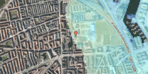 Stomflod og havvand på Sionsgade 5A, 2100 København Ø