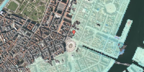Stomflod og havvand på Kongens Nytorv 8E, 1050 København K
