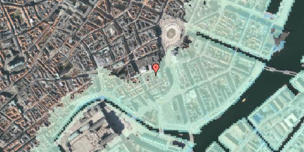 Stomflod og havvand på Asylgade 1, 1064 København K