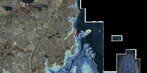 Stomflod og havvand på Nygårdsvej 16B, 4. , 2100 København Ø