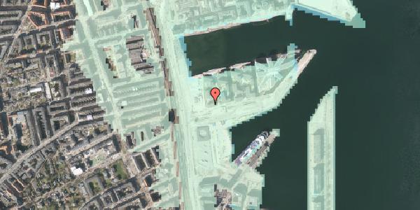 Stomflod og havvand på Marmorvej 7A, 2100 København Ø