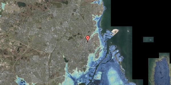 Stomflod og havvand på Bygmestervej 63, 2400 København NV
