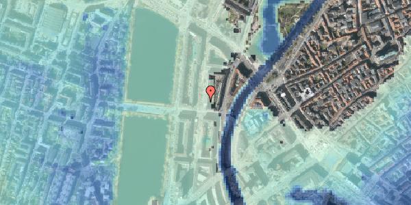 Stomflod og havvand på Nyropsgade 27, 1602 København V