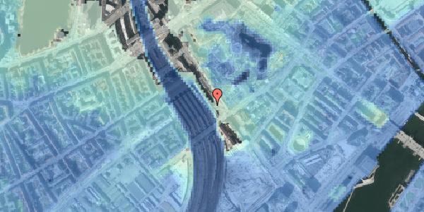 Stomflod og havvand på Bernstorffsgade 22, 2. , 1577 København V