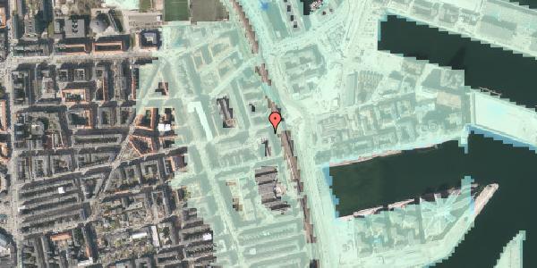 Stomflod og havvand på Østbanegade 135, 2100 København Ø