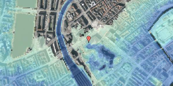 Stomflod og havvand på Vesterbrogade 1M, 1620 København V