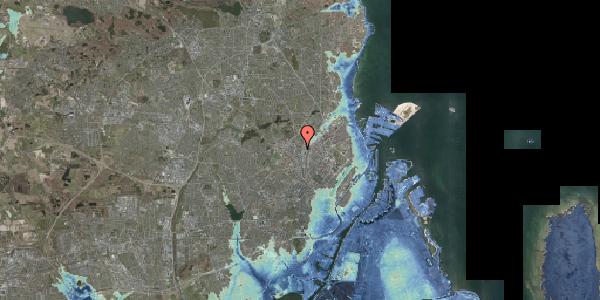 Stomflod og havvand på Bygmestervej 8, 2400 København NV