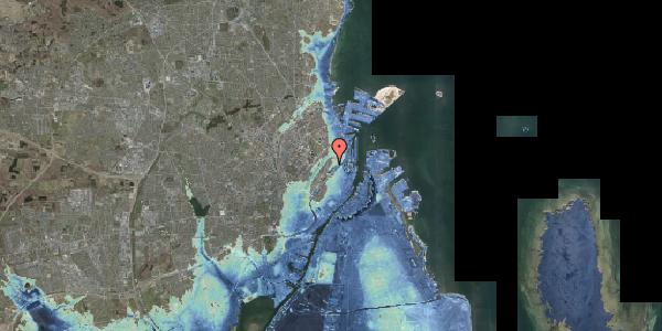 Stomflod og havvand på Upsalagade 20B, 1. tv, 2100 København Ø