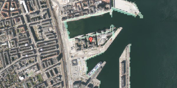 Stomflod og havvand på Marmorvej 25, 3. tv, 2100 København Ø