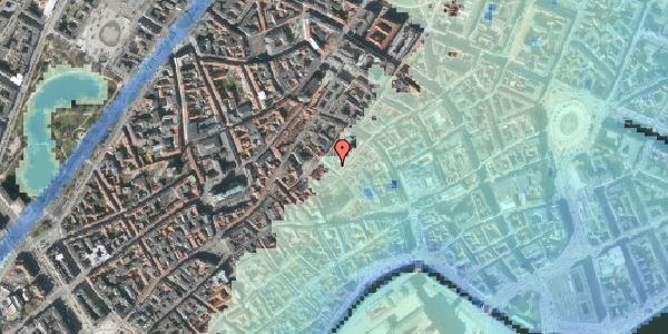 Stomflod og havvand på Niels Hemmingsens Gade 24, 2. , 1153 København K