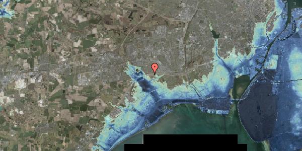 Stomflod og havvand på Kirkebakke Alle 13, st. , 2625 Vallensbæk