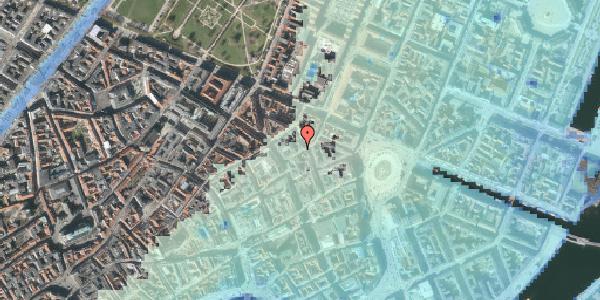 Stomflod og havvand på Grønnegade 3, 1. th, 1107 København K