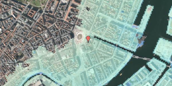 Stomflod og havvand på Kongens Nytorv 3, 1050 København K
