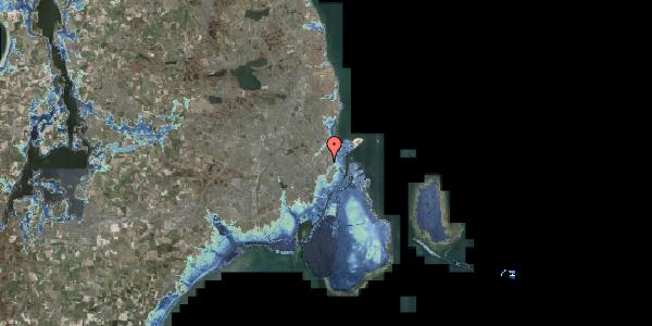 Stomflod og havvand på Edel Sauntes Allé 7, 2100 København Ø